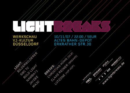 Lightbreaks, Altes Bahn-Depot, Düsseldorf, 2007