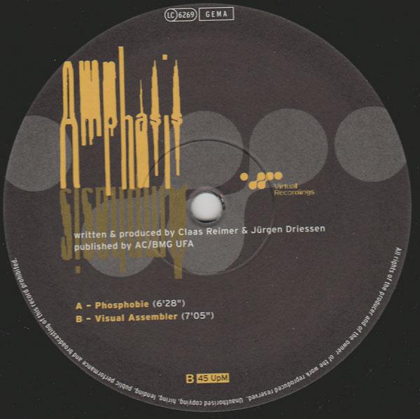 Amphasis - Phosphobie (Virtual Recordings)