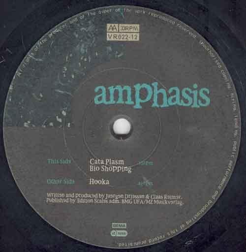 Amphasis – Hooka EP (Virtual Recordings)